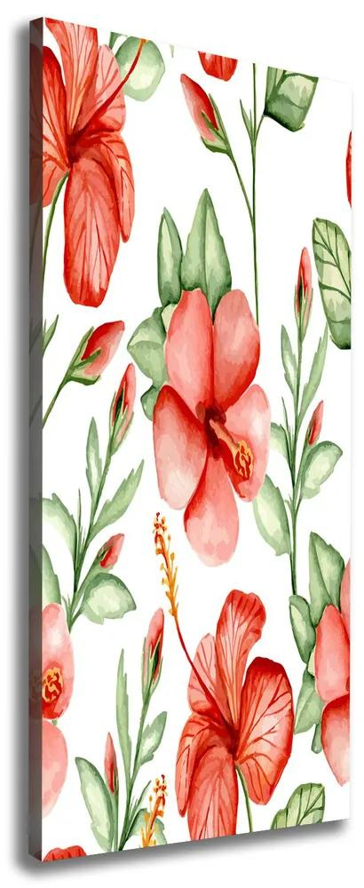 Tablou pe pânză Flori tropicale