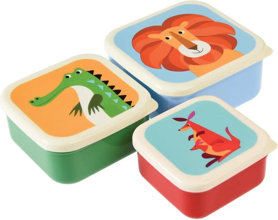 Set 3 cutii gustări Rex London Creatures