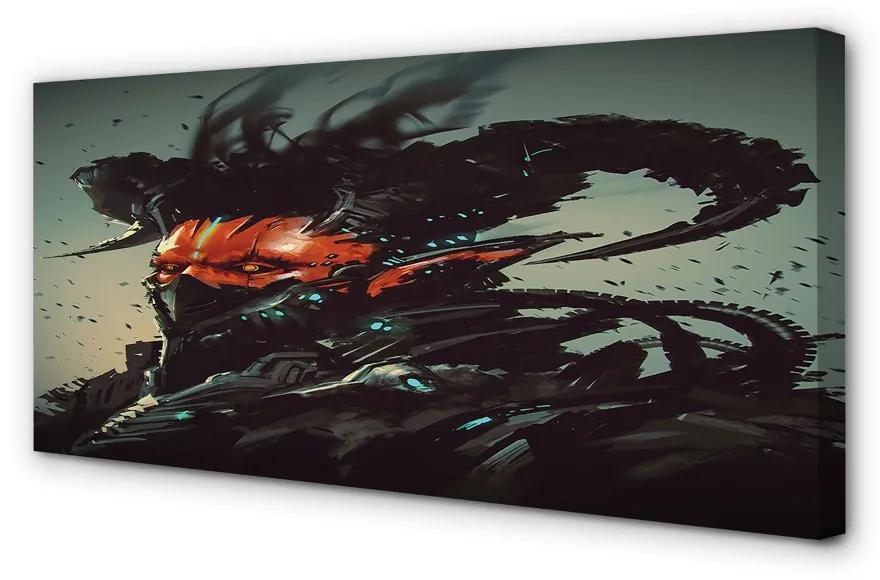 Tablouri canvas Tablouri canvas forma teribil întuneric