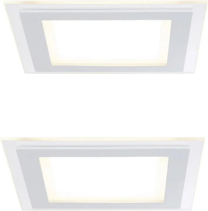 Paulmann 92706 - SET 2xLED Lampă încastrată DECODICE 2xLED/7,5W/230V