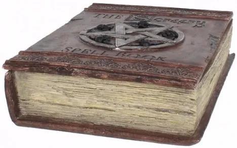 Cutie bijuterii in forma de carte Spell Book 29 cm