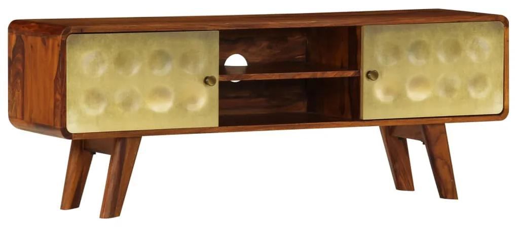 246345 vidaXL Comodă TV, 120 x 30 x 45 cm, lemn masiv de palisandru