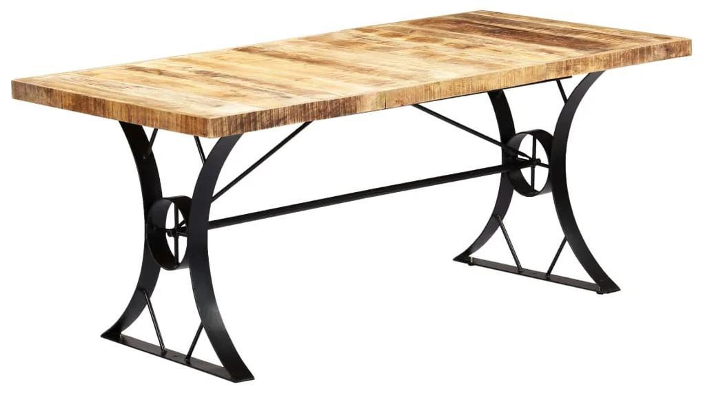 282766 vidaXL Masă de bucătărie, 180 x 90 x 76 cm, lemn masiv de mango