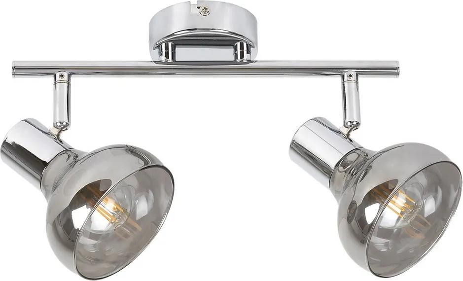 Rabalux 5556 - Lampă spot HOLLY 2xE14/40W/230V crom lucios