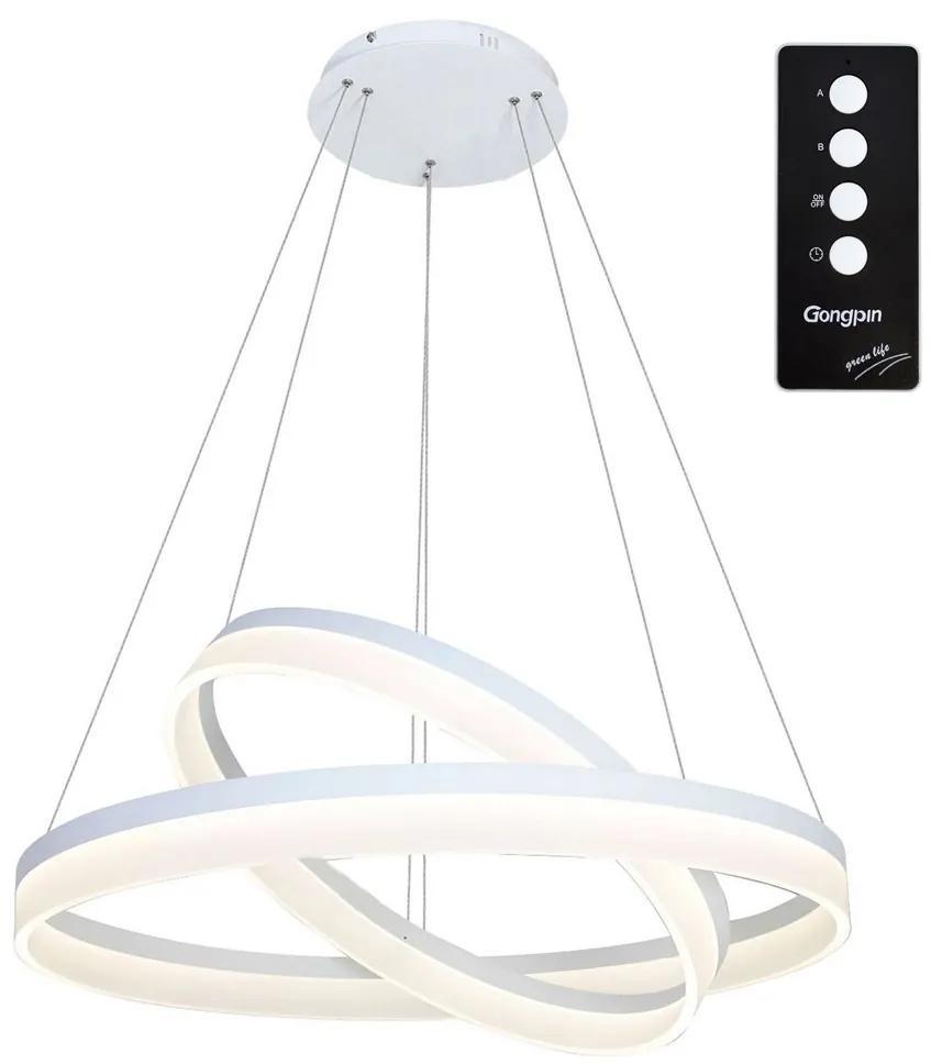 LED Lustră pe cablu RING cu telecomandă LED/60W/230V
