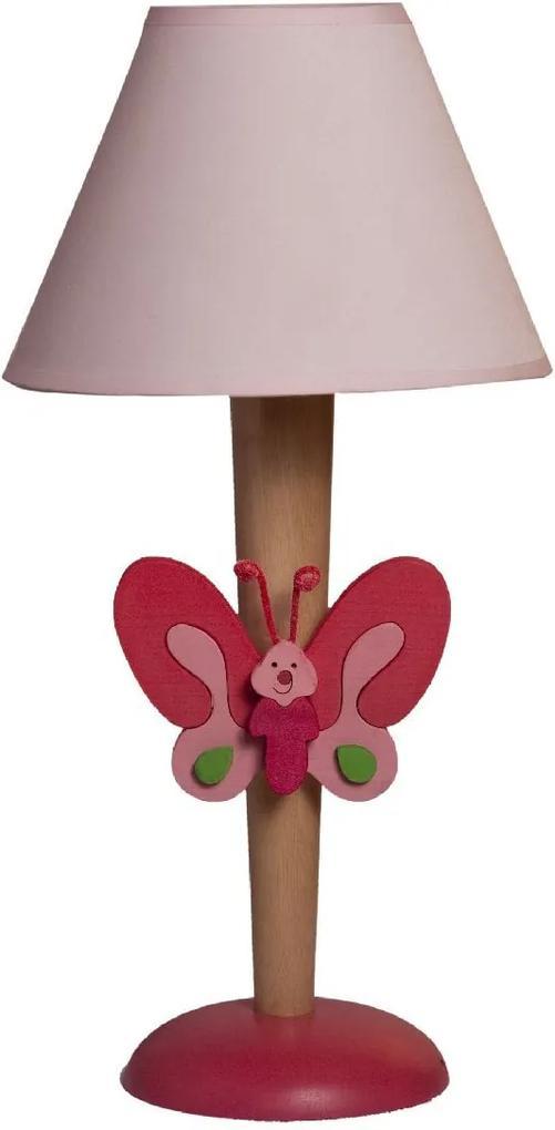 Veioză copii cu jucărie Fluture