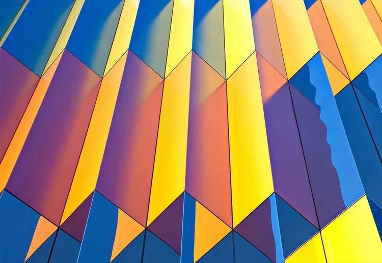 Color Cascade Fototapet, (368 x 254 cm)