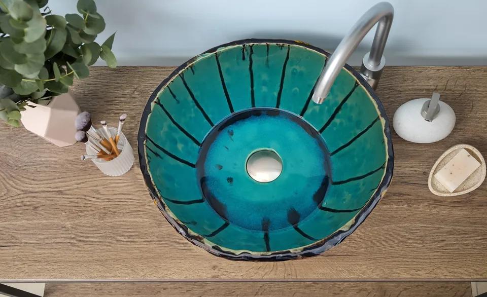 Chiuveta Ceramica UNICAT Blue Sky