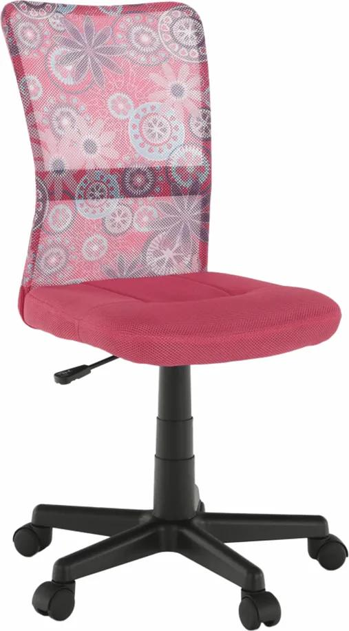 Scaun rotativ, roz/model/negru, GOOFY