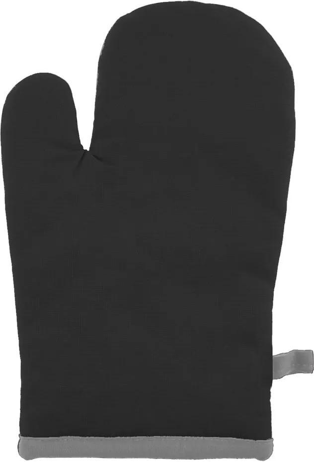 Mănușă din bumbac pentru bucătărie Tiseco Home Studio Fuji, negru