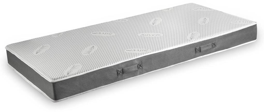 Saltea Domine MultiSuport Silver Memory cu 3 straturi de suport - 90x200 cm