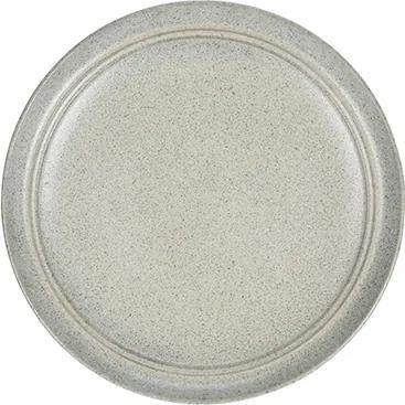 Farfurie Terra din ceramica verde 21 cm