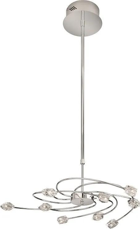 Philips Massive 37703/11/10 - Lampa suspendata CATILINA 9xG4/20W