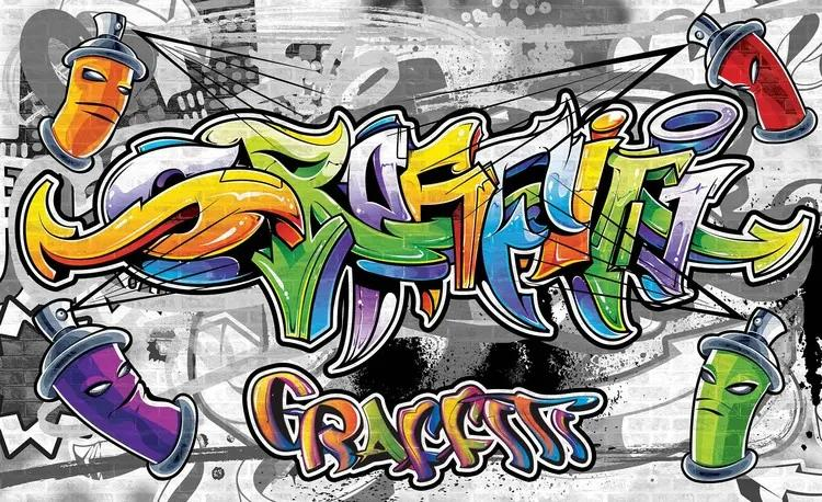 Graffiti Street Art Fototapet, (416 x 254 cm)