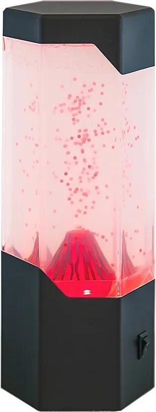 Veioză cu lavă Rabalux 4535 Cillian, culori schimbătoare