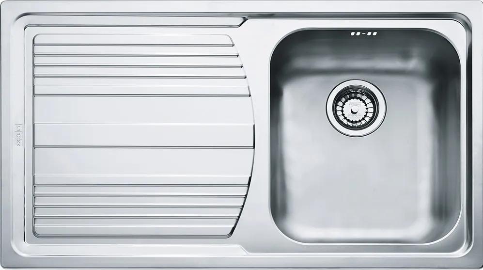 Chiuveta Franke Logica Line LLX 611-L, picurator stanga, 860x500mm, inox lucios