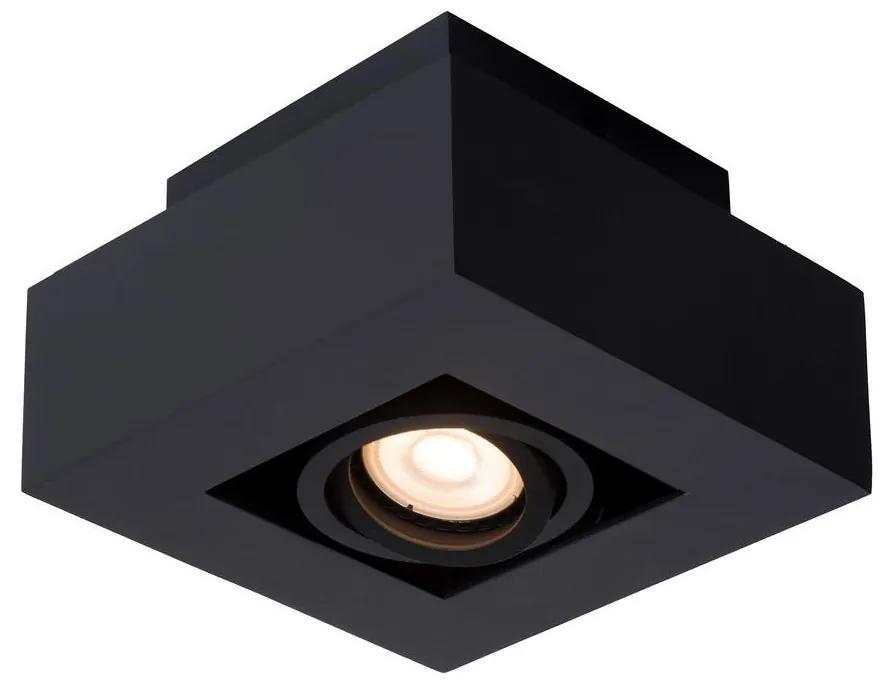 Lucide 09119/06/30 - Lampă de masă LED XIRAX 1xGU10/5W/230V negru
