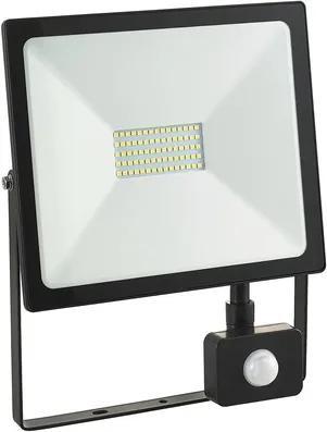 Proiector cu senzor si LED integrat Comtec 50W 4500 lumeni IP65, lumina rece