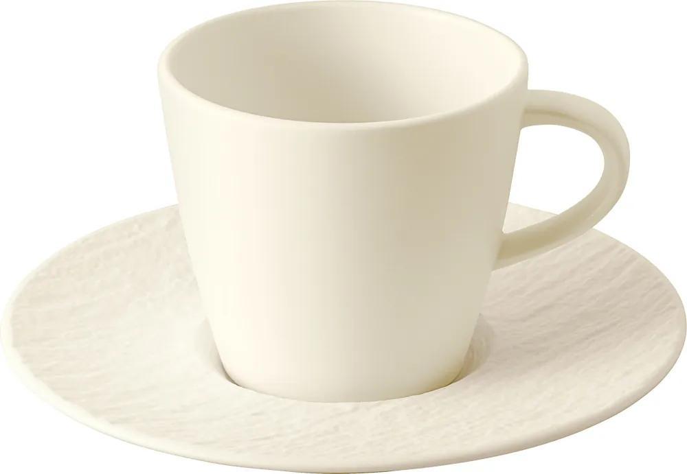 Ceașcă pentru cafea, colecția Manufacture Rock blanc - Villeroy & Boch
