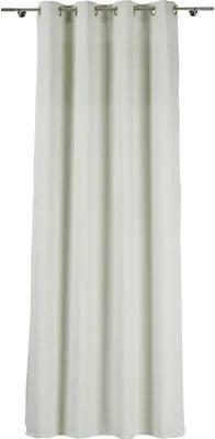 Draperie cu inele Maple turcoaz 300x245 cm