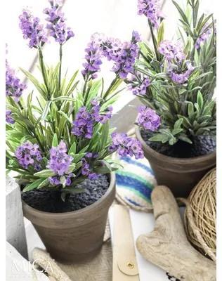 Planta artificiala, lavanda, violet