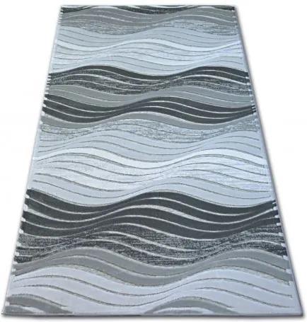 Covor acril Yazz 1760 gri 80x150 cm