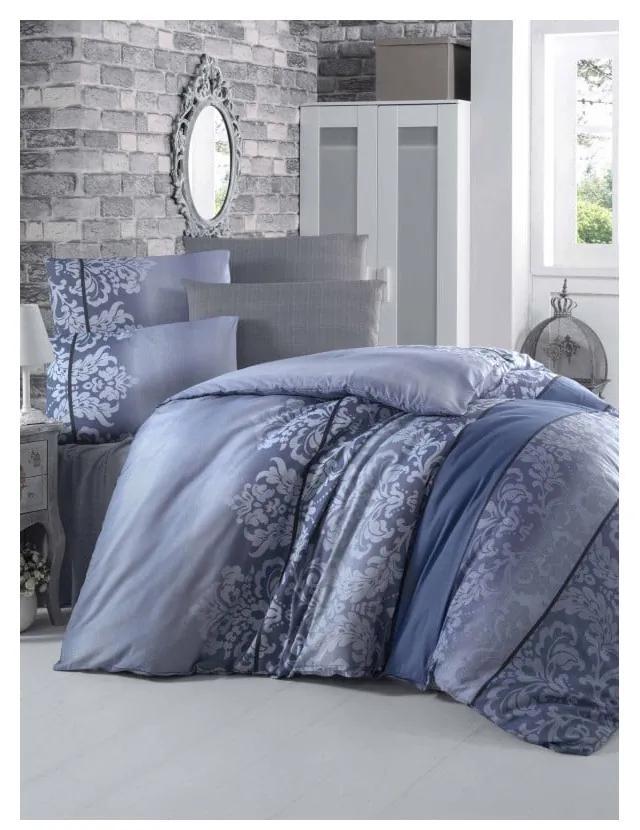 Lenjerie de pat cu cearșaf Bloyku, 200 x 220 cm
