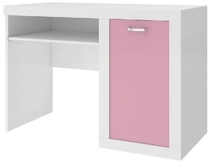 Expedo Birou pentru copii JAKUB, color, alb/roz