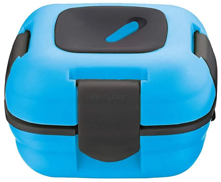Caserola termica pentru alimente, 1 litru, Albastru