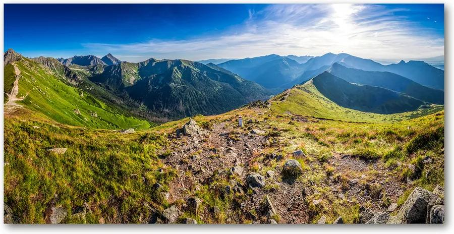 Tablou pe acril Panorama de munte