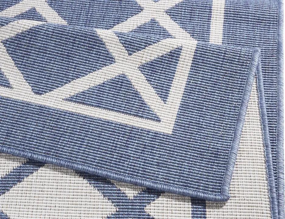 Covor albastru Twin Supreme Sydney Bougari (diverse dimensiuni)