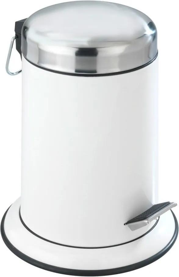 Coș de gunoi cu pedală Wenko Retoro, 3 l, alb