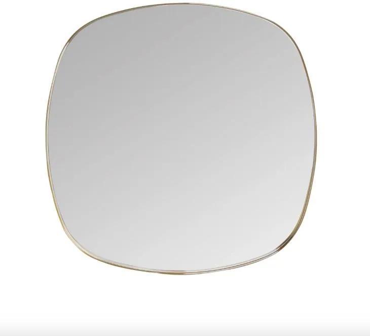 Oglinda patrata maro din alama 70x70 cm Dobles Brass Medium
