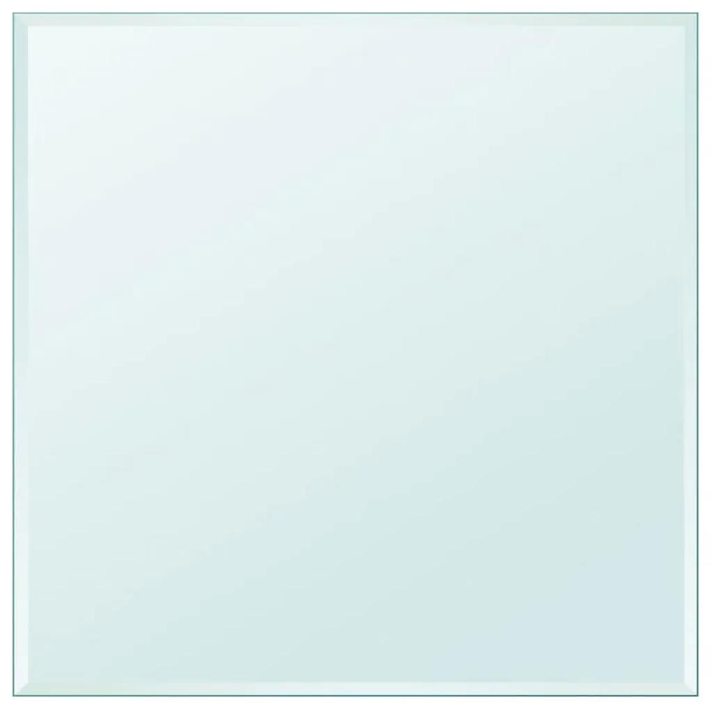 243632 vidaXL Blat de masă din sticlă securizată pătrat 800 x 800 mm