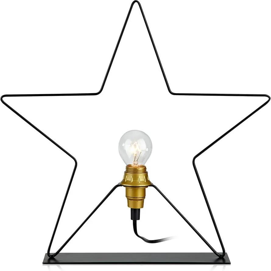 Decorațiune luminoasă Markslöjd Rapp Star, înălțime 36 cm