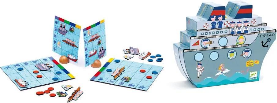 """Joc de strategie pentru copii Djeco """"Bătălia pe mare"""""""