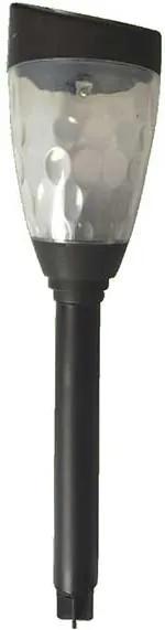 LAMPA SOLARA LED PENTRU GRADINA, 6X35 CM, NEGRU, PLASTIC