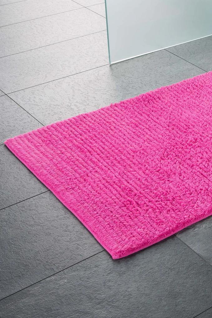 Covor de baie Agra, roz 60x100 cm