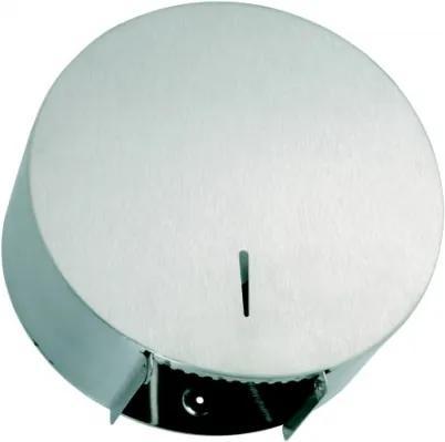 Dispenser rola hartie igienica Jumbo Bemeta Hotel otel inoxidabil mat 310 x 320 x 130 mm