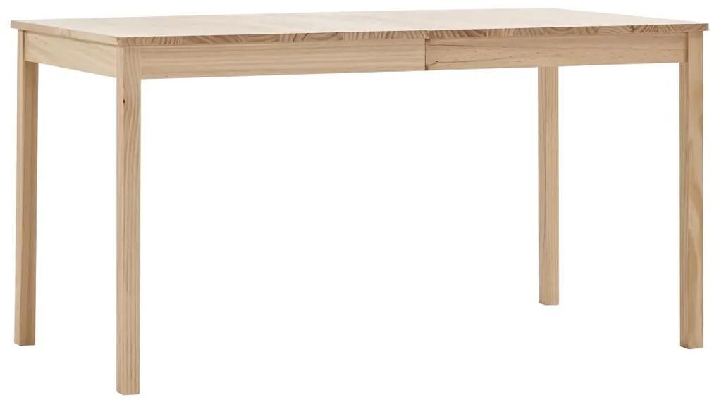 283397 vidaXL Masă de bucătărie, 140 x 70 x 73 cm, lemn de pin