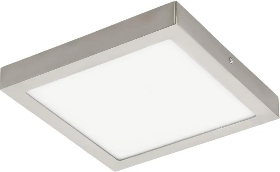 Eglo 96681 - LED RGB Plafoniera FUEVA-C LED/21W/230V crom mat patrat