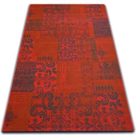 Covor Vintage 22215/021 roșu peticire 120x170 cm