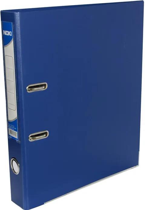 Biblioraft plastifiat Noki 5 cm bleumarin
