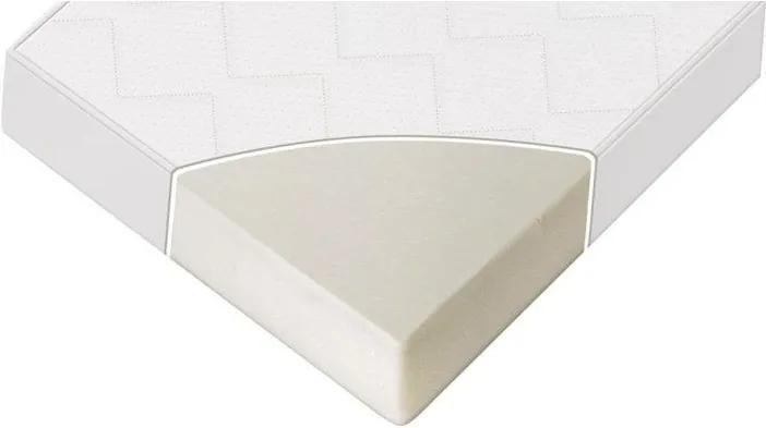 Lorelli - Saltea SWEET DREAM 62/161/14 cm, alb