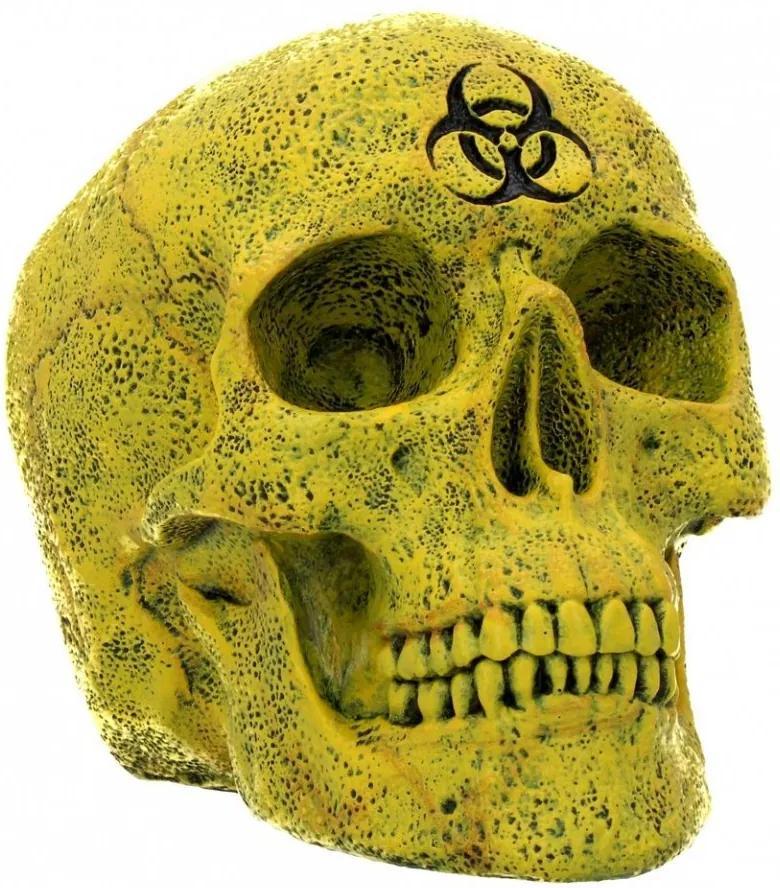 Statueta craniu Biohazard 18 cm