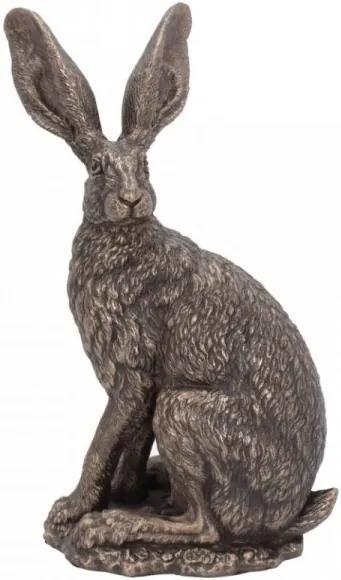 Statueta iepure Stai Cuminte! 22 cm