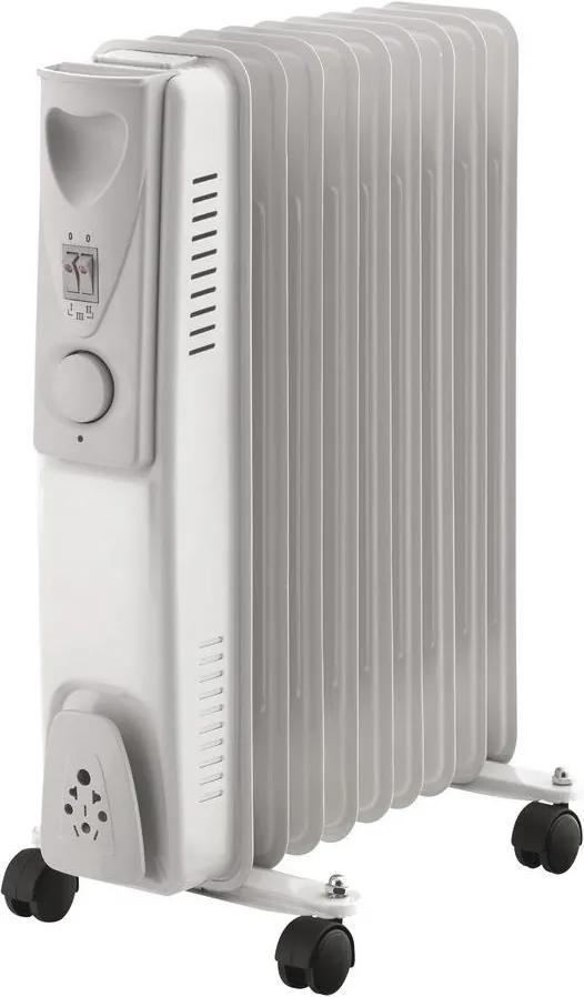 Radiator cu ulei cu 9 elemenți 2000W/230V gri