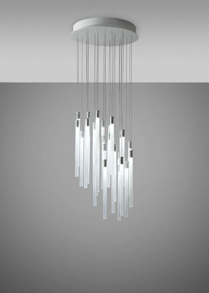 Multispot A05 - Pendul cu 30 surse de lumină din cristal