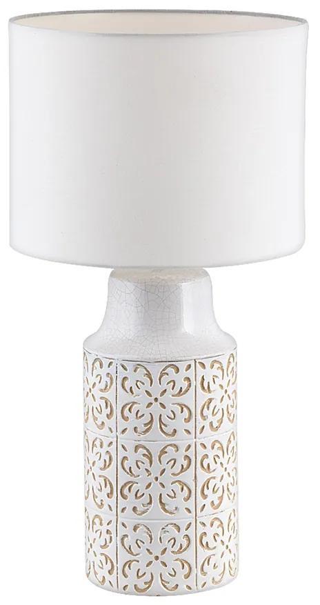 Rabalux 4310 - Lampă de masă AGNES 1xE27/60W/230V bej