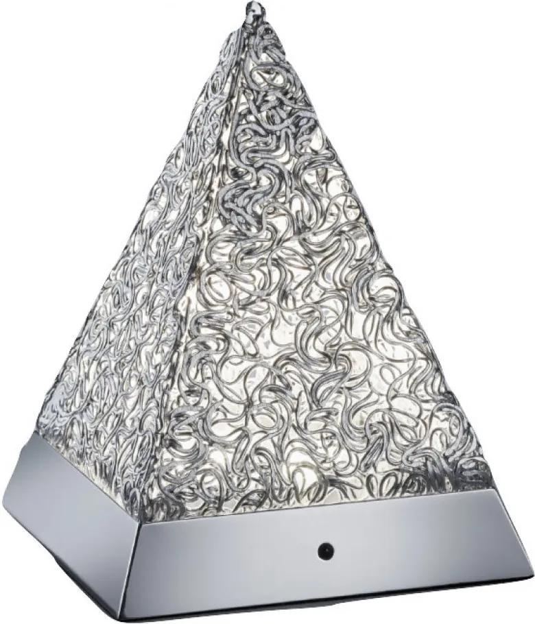 Trio PAUL R52241106 Lampa de masa de noapte aluminiu aluminiu incl. 1 x SMD, 5,5W, 3000K, 430Lm 430lm 3000K IP20 A+